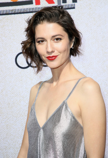 Premiere Of Amazon Studios' 'Suspiria' - Arrivals [hair,lip,hairstyle,eyebrow,beauty,fashion model,long hair,brown hair,black hair,photo shoot,arrivals,mary elizabeth winstead,amazon studios ``suspiria,california,hollywood,arclight cinerama dome,amazon studios,premiere,premiere]