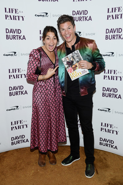 David Burtka Celebrates The Launch Of The Life Is A Party Cookbook In New York City With The Capital One Savor® Credit Card