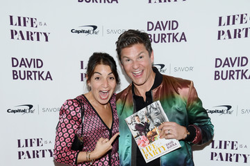 Mary Giuliani David Burtka Celebrates The Launch Of The Life Is A Party Cookbook In New York City With The Capital One Savor® Credit Card