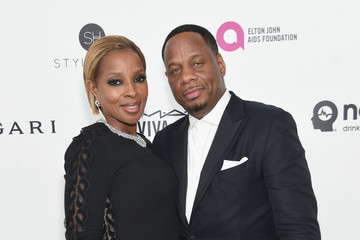Mary J. Blige 24th Annual Elton John AIDS Foundation's Oscar Viewing Party - Red Carpet