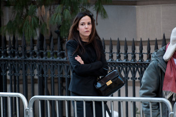 Mary-Louise Parker Funeral Held for Philip Seymour Hoffman