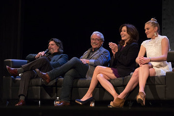Mary McDonnell Closing Night Reunion of 'Battlestar Galactica'