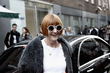 Mary Portas Front Row & Celebrities: Day 5 - LFW AW16