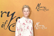 "Actress Mamie Gummer attends the New York premiere of ""Mary Queen Of Scots"" at Paris Theater on December 4, 2018 in New York City."