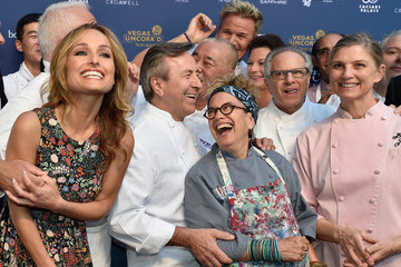 Mary Sue Milliken Celebrity Chefs Light Up The Strip During Vegas Uncork'd By Bon Appetit's 10th Anniversary Grand Tasting At Caesars Palace