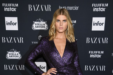 Maryna Linchuk Harper's BAZAAR Celebrates 'ICONS By Carine Roitfeld' At The Plaza Hotel Presented By Infor, Laura Mercier, Stella Artois, FUJIFILM And SWAROVSKI - Red Carpet