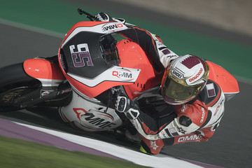 Mashel Al Naimi Moto2 And Moto3 Tests In Losail