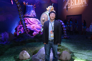 Masi Oka Nintendo Hosts Celebrities At 2016 E3 Gaming Convention