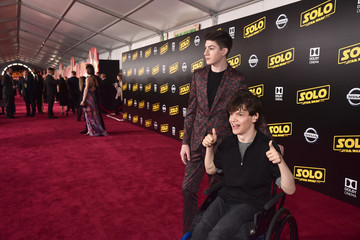 Mason Cook Stars And Filmmakers Attend The World Premiere Of 'Solo: A Star Wars Story' In Hollywood