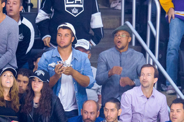 Mason Gooding Celebs Spotted at the Kings Game