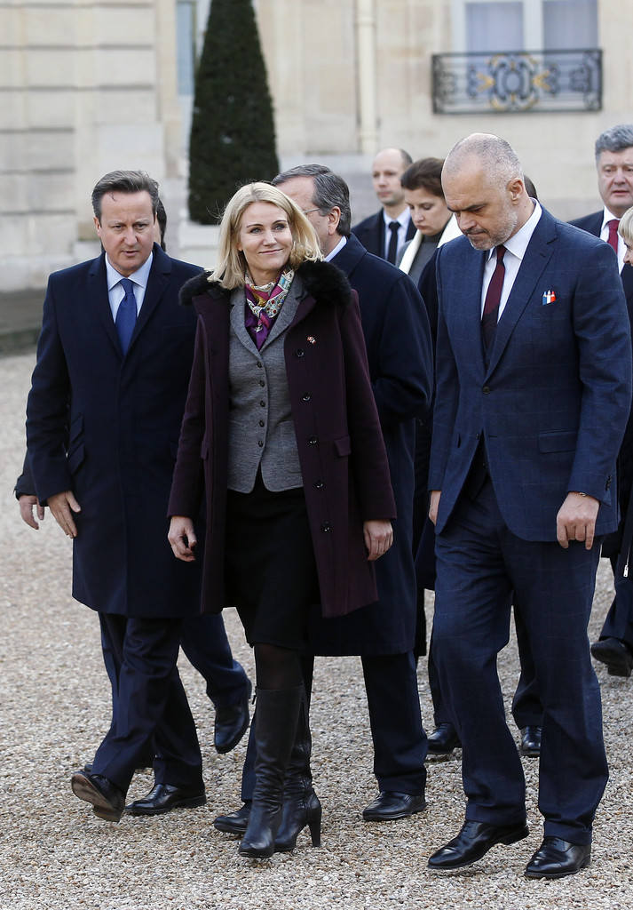 david cameron and helle thorning schmidt photos photos zimbio. Black Bedroom Furniture Sets. Home Design Ideas