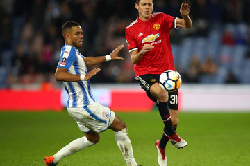 Mathias Jorgensen Huddersfield Town v Manchester United - The Emirates FA Cup Fifth Round