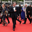 """Mathieu Amalric """"Les Intranquilles (The Restless)"""" Red Carpet - The 74th Annual Cannes Film Festival"""