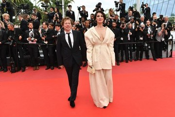 Mathieu Amalric 'Barbara' Red Carpet Arrivals - The 70th Annual Cannes Film Festival