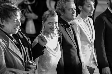 """Mathieu Amalric Mélanie Thierry """"Tralala"""" Red Carpet - The 74th Annual Cannes Film Festival"""