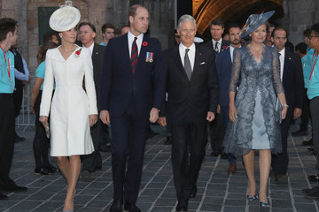 Mathilde of Belgium    Members Of The Royal Family Attend The Passchendaele Commemorations In Belgium
