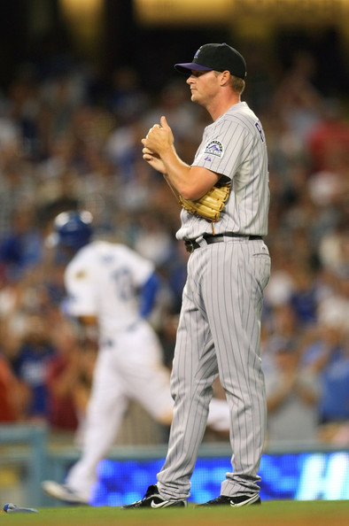 - Matt Reynolds Colorado Rockies v Los Angeles k8UyegPSm2dl