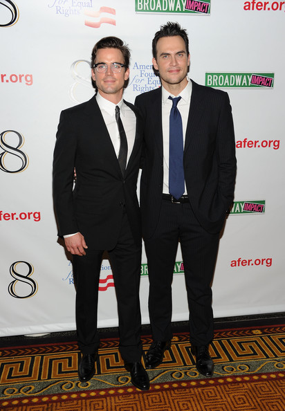 Matthew Bomer couple