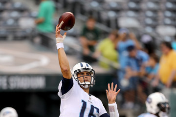 Matt Cassel Tennessee Titans v New York Jets