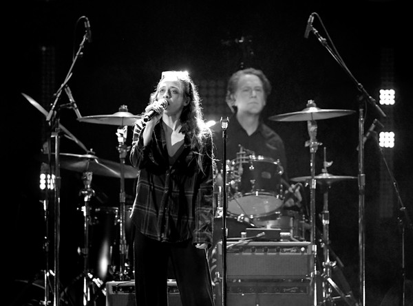 'I Am the Highway: A Tribute to Chris Cornell' [musician,performance,music,entertainment,performing arts,concert,drums,rock concert,musical instrument,drum,i am the highway: a tribute to chris cornell,image,i am the highway: a tribute to chris cornell,forum,inglewood,california,matt chamberlain,fiona apple]