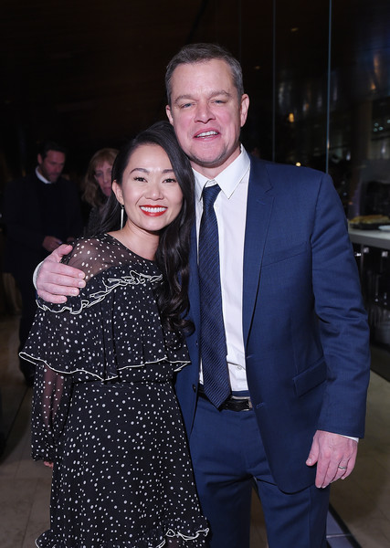 'Downsizing' New York Screening - After Party Arrivals