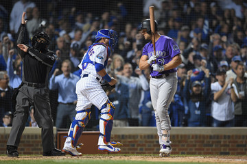 Matt Holliday Wild Card Game - Colorado Rockies v Chicago Cubs