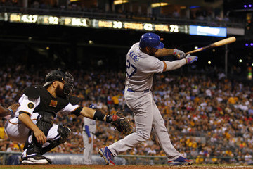 Matt Kemp Los Angeles Dodgers v Pittsburgh Pirates