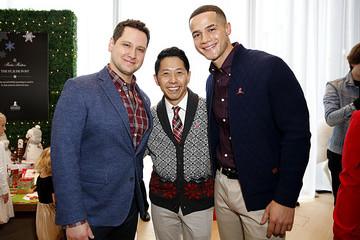 Matt McGorry Brooks Brothers Hosts Annual Holiday Celebration To Benefit St. Jude At West Hollywood EDITION