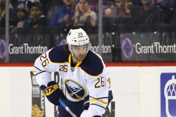 Matt Moulson Buffalo Sabres v New York Islanders