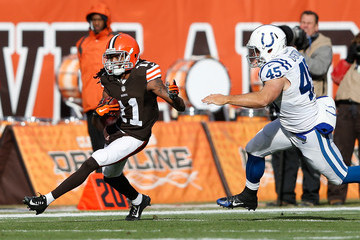 Matt Overton Indianapolis Colts v Cleveland Browns