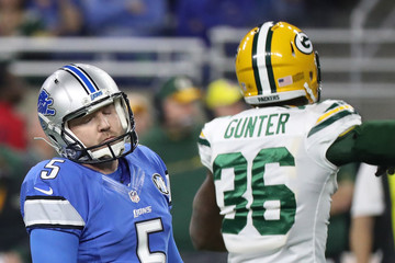 Matt Prater Green Bay Packers v Detroit Lions
