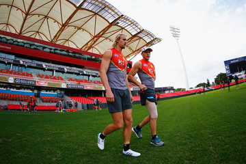 Matt Shaw Gold Coast Suns Training Session