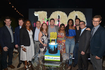 Matt Warburton 'The Mindy Project' 100th Episode Party