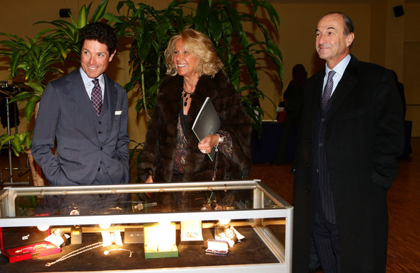 Sotheby's Charity Auction For FFC Onlus [event,suit,formal wear,tuxedo,ceremony,white-collar worker,maria franca norsa,michele norsa,matteo marzotto,l-r,ffc onlus,italy,milan,sothebys,charity auction for ffc onlus,charity auction]