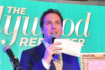 Matthew Belloni The Hollywood Reporter 6th Annual Nominees Night - Inside