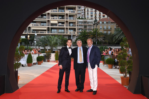 57th Monte Carlo TV Festival : Day 3 [the last tycoon,red carpet,photograph,red,carpet,flooring,event,suit,ceremony,marriage,architecture,chris keyser,matthew bomer,kelsey grammerfrom,monte-carlo,monaco,monte carlo tv festival]