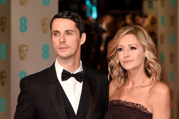 Sophie Dymoke and Matthew�Goode at�British Academy Film Awards 2015