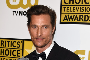 Matthew McConaughey 4th Annual Critics' Choice Television Awards - Press Room