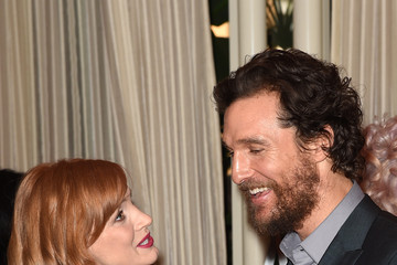 Matthew McConaughey Jessica Chastain Arrivals at the 15th Annual AFI Awards