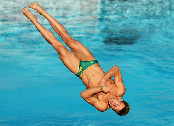 Matthew Mitcham - Diving Day One - 13th FINA World championships