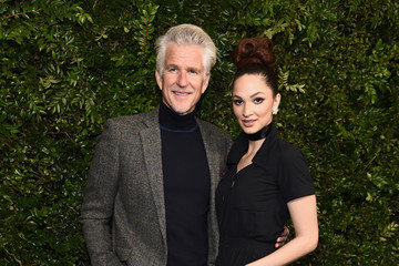 Matthew Modine Charles Finch And Chanel Pre-Oscar Awards Dinner At Madeo In Beverly Hills