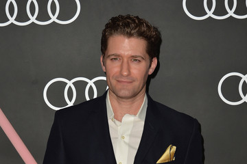 Matthew Morrison Stars Celebrate Golden Globes Weekend — Part 2