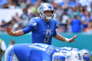 Matthew Stafford Detroit Lions vs. Miami Dolphins