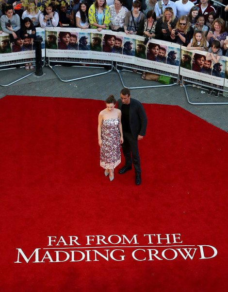 'Far From The Madding Crowd' World Premiere - Red Carpet Arrivals
