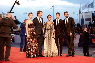 Matthias Schoenaerts 'The Danish Girl' Premiere - 72nd Venice Film Festival