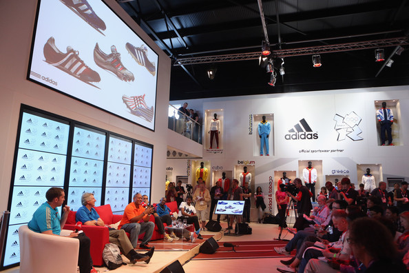 adidas Olympic Media Lounge At Westfield