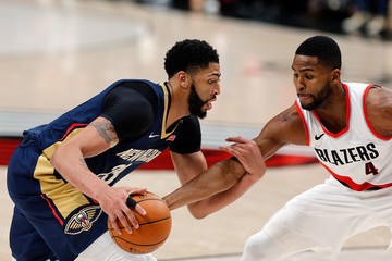 Maurice Harkless New Orleans Pelicans vs. Portland Trail Blazers - Game Two