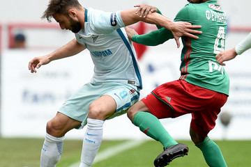 Mauricio FC Lokomotiv Moscow vs FC Zenit Saint Petersburg - Russian Premier League