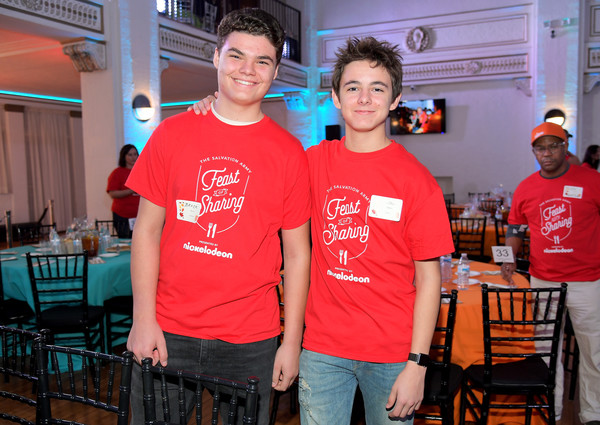 Nickelodeon Presents The Salvation Army Feast Of Sharing