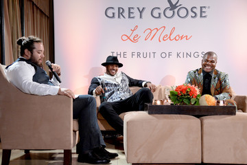Max Chow GREY GOOSE Le Melon Toasts Carmelo Anthony